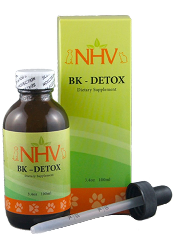 NHV Bk Detox - Natural Herbal Supplement Helps Detox, Protect, and Support Your Pet's Immune System