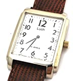LUCH Russian Men's 15 Jewels Wind up Wrist Watch Gift