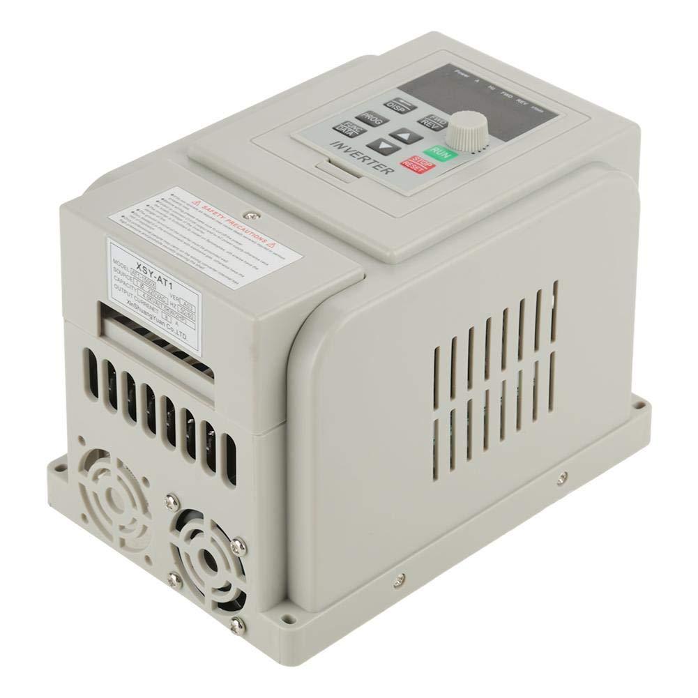 Variador de frecuencia variador de velocidad CA 220V 1.5KW Variador de frecuencia Variador VFD Controlador de velocidad para motor trif/ásico