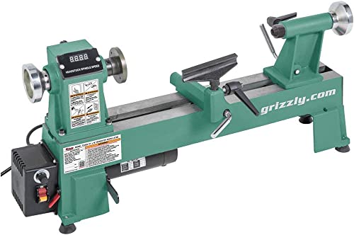 Grizzly Industrial T25926-10 x 18 Variable-Speed Benchtop Wood Lathe