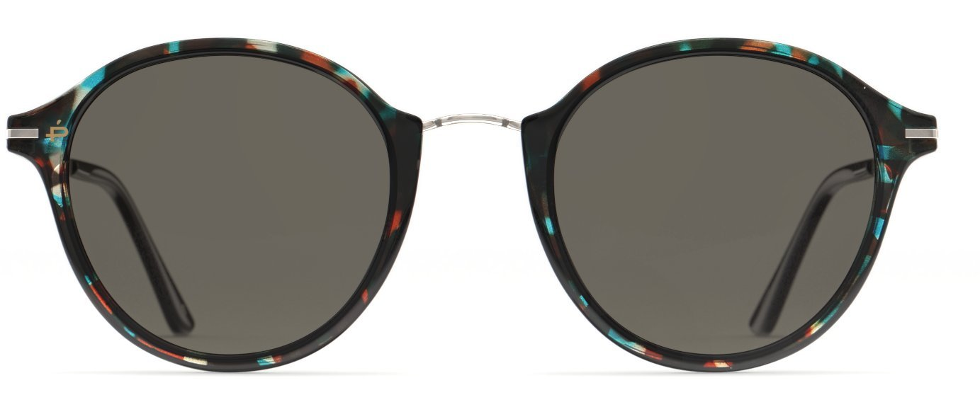 PRIVÉ REVAUX Places We Love Collection''The Penn'' Polarized Designer Round Sunglasses RandM Colab