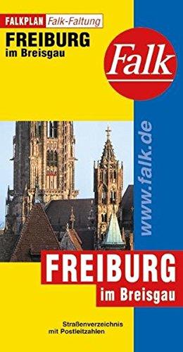 Falkplan Falk-Faltung Freiburg im Breisgau