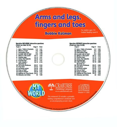 Arms, and Legs, Fingers and Toes (My World: Level B)