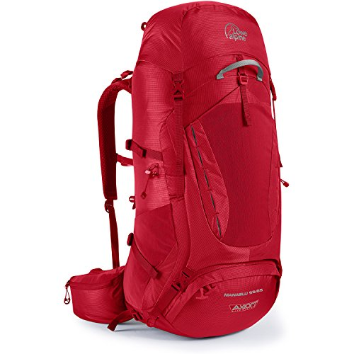 - Lowe Alpine Manaslu 55:65 Backpack - Oxide Regular
