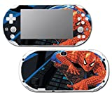 Amazing Spider-Man Spiderman 1 2 3 Cartoon Movie Video Game Vinyl Decal Skin Sticker Cover for Sony Playstation Vita Slim 2000 Series System