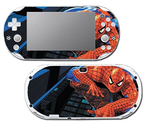 Amazing Spider-Man Spiderman 1 2 3 Cartoon Movie Video Game Vinyl Decal Skin Sticker Cover for Sony Playstation Vita Slim 2000 Series System