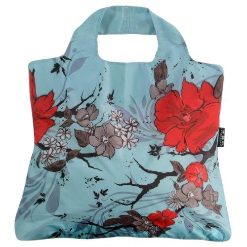 Envirosax WL.B3 Omnisax Wanderlust Reusable Shopping Bag, Blue ()
