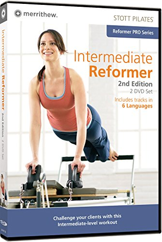 STOTT PILATES Intermediate Reformer 2nd Edition – 2 Disc Set  (6 Languages)