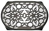 le creuset cast iron trivet - Le Creuset Cast Iron Deluxe Oval Trivet, 10 1/2