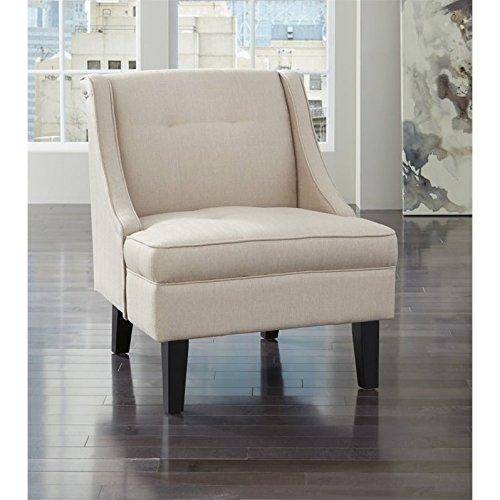 Ashley Clarinda Fabric Accent Chair in Cream