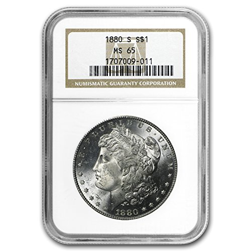 1880 S Morgan Dollar MS-65 NGC $1 MS-65 NGC