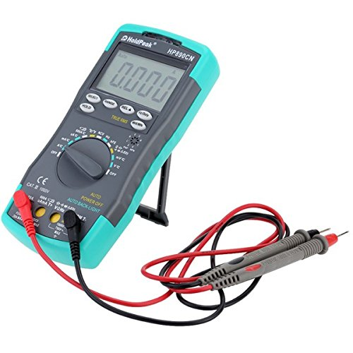 Universal Jumper Lead Set (HoldPeak HP-890CN Anti-drop Digital LCD Auto Range Multimeter)