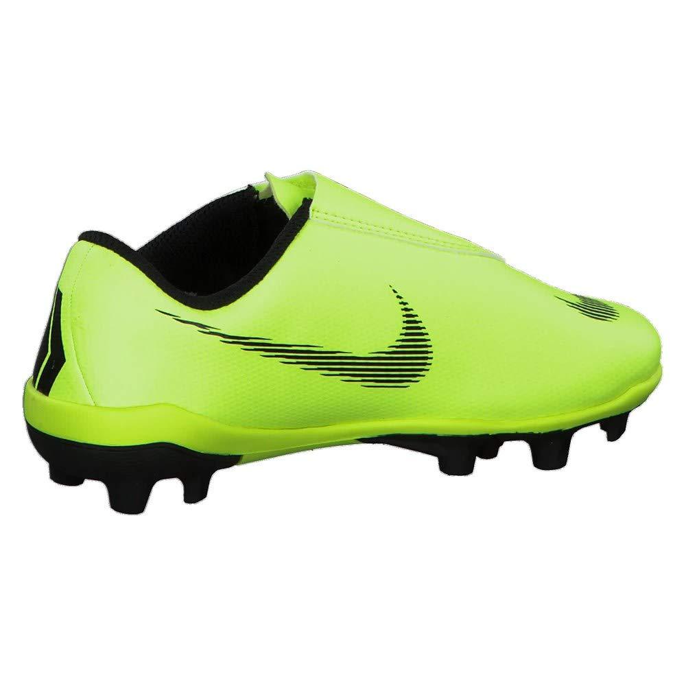 Nike Botas de Fútbol Mercurial Vapor Series Suela MG Amarillo/Negro Niño con Velcro: Amazon.es: Deportes y aire libre