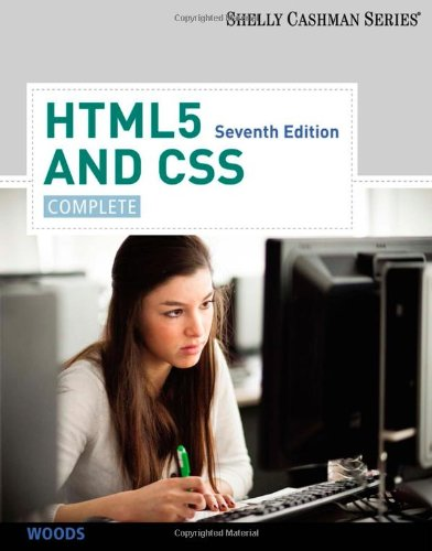 HTML5 and CSS: Complete by Cengage Learning