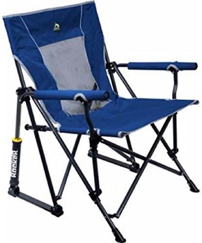 GCI Outdoor RoadTrip Rocker Chair Royal Blue for sale  Delivered anywhere in USA