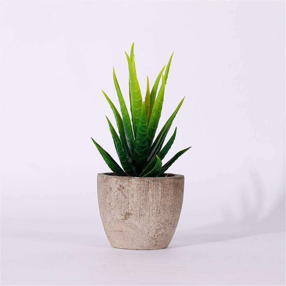 LSTC Piante Finte Piante Piante di Cactus Artificiali in Vaso Decorazioni pasquali Veranda Decor Decorazioni per Ufficio Decorazione della Cucina Green 1