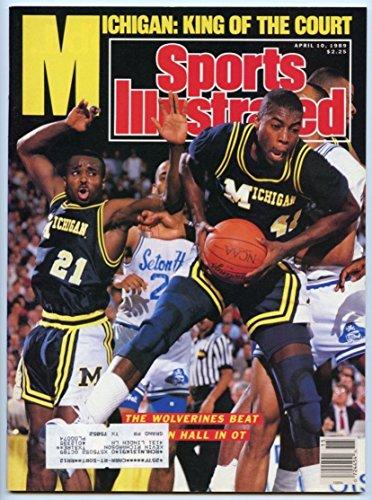 1989 Michigan Wolverines Basketball (SI: Sports Illustrated April 10, 1989 Glen Rice, Basketball, Michigan Wolverines)