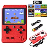 Etpark Handheld Game Console Retro Mini Game Player with 400 Classical FC Games 2.8-Inch Color Screen Support for...