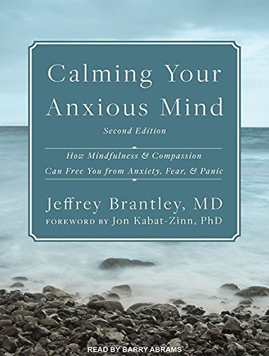 Calming Your Anxious Mind: How Mindfulness and Compassion Can Free You from Anxiety, Fear, and Panic, by Jeffrey Brantley MD