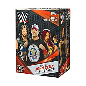 2017 Topps WWE Wrestling 10ct Blaster Box