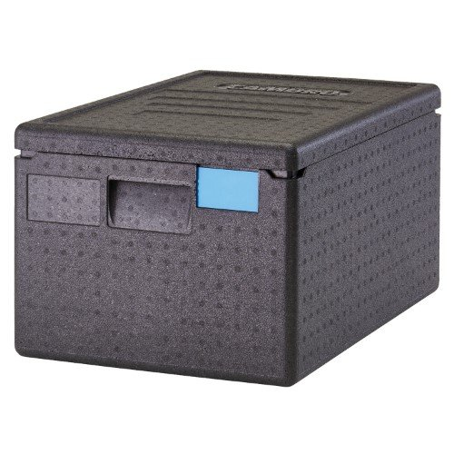 - Cambro EPP180SW110 Cam GoBox Top-Loader Food Pan Carrier, Black