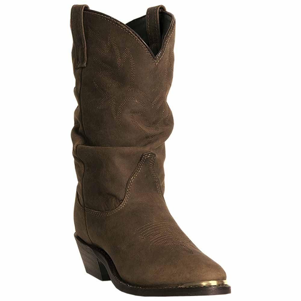 Dingo Womens Golden Condor Leather Marlee 10in Round Toe Cowboy Boots 7 M