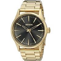 Nixon Men's A4501604 Sentry 38 SS Analog Display Analog Quartz Gold Watch