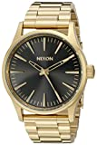 Nixon A4501604 Unisex The Sentry 38 SS Gold/Black Sunray