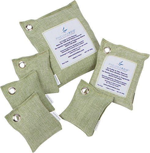 PNEUMABOO Baby Essentials Nursery Kit Gift Set 100% Natural Air Purifying Bags