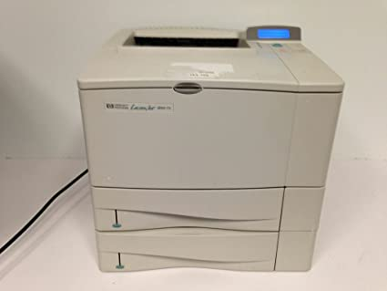 NEW DRIVERS: HP LASERJET 4000 PCL