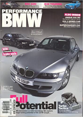 Performance BMW (May 2012, # 152) Single Issue Magazine – 2012