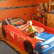 Amazon Com Step2 Stock Car Convertible Bed Toys Amp Games