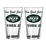 NFL New York Jets Spirit Pint, 16-ounce, 2-Pack