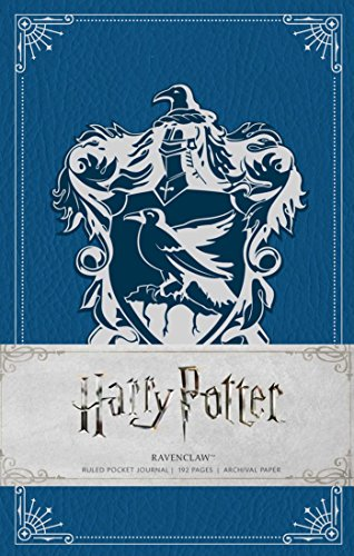 Harry Potter: Ravenclaw Ruled Pocket Journal (Insights Journals) [Insight Editions] (Tapa Dura)