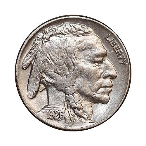1926 P Buffalo Nickel - Gem BU/MS/UNC - High grade Coin/Superb