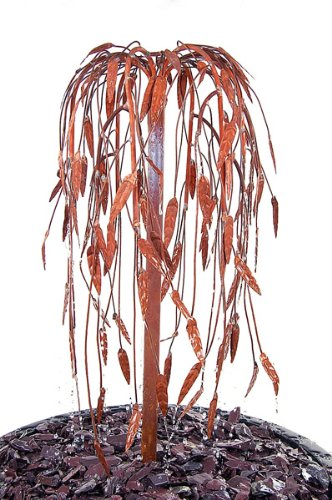 Ambiente Weeping Willow Copper Tree Cascade Water Feature Primrose