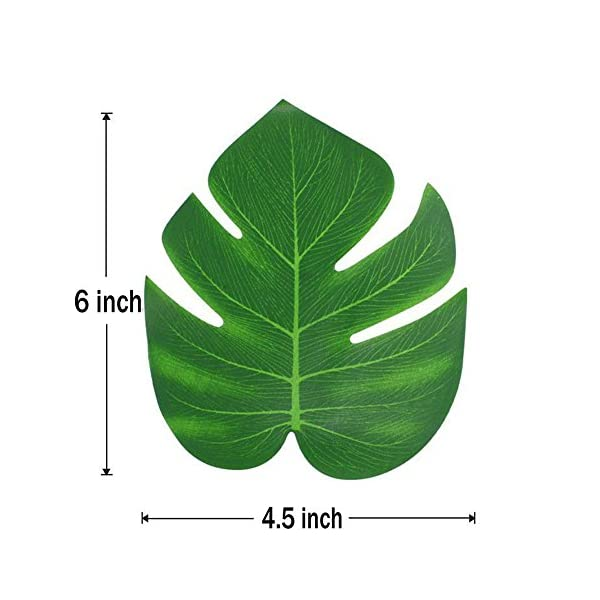 36-Pcs-Tropical-Artificial-Plant-Palm-Monstera-Leaves-Imitation-Silk-Fabric-Decoration-Leaf-Table-Decor-Accessories-for-Jungle-Beach-Theme-Prom-and-Hawaiian-Luau-Party-Supplies