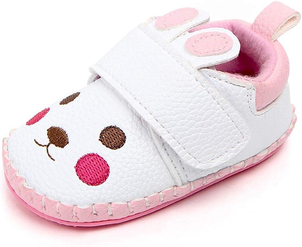 Zapatos Niños Niñas Zapatos de Bebe niña, Recién Nacido bebé niña otoño Lindo Dibujos Animados Conejo Suave Suela Zapatos Casuales de Princesa Vestir Zapatillas Deportivas: Amazon.es: Ropa y accesorios