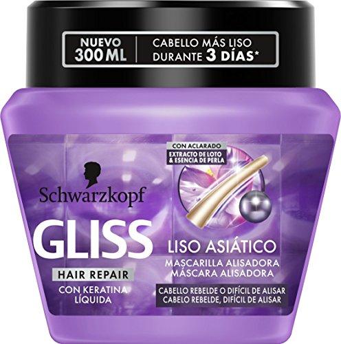 Gliss - Mascarilla Liso Asiatico - 300ml - Schwarz