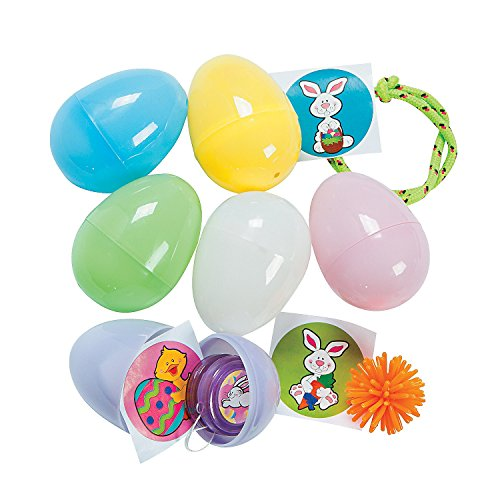 Easter Toy-Filled Pastel Eggs - Party and Events (2 (Filled Pastel Eggs)