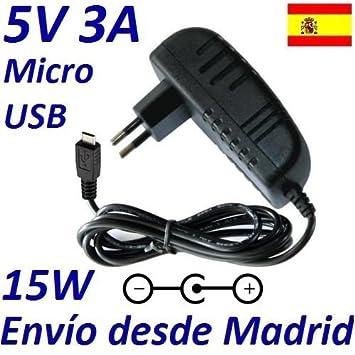 Cargador Corriente 5V 3A 3000mA Micro USB 15W Raspberry PI ...
