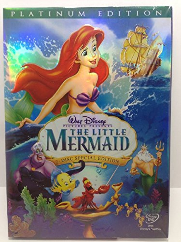 Price comparison product image The Little Mermaid DVD Walt Diesny (Two-Disc Platinum Edition) (1989)