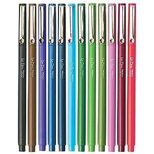 Marvy (4300S-12pk) Le Pen, 12 Color Set, Dozen