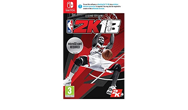 NBA 2K18 Legend Edition Jeu Switch: Amazon.es: Electrónica
