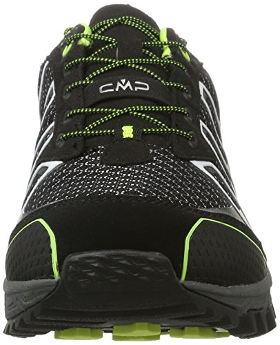C.P.M. Atlas - Zapatillas de running Hombre Negro (Nero-yellow Fluo)