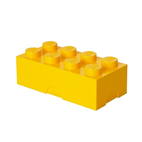 LEGO 40231732 - Caja de almuerzo, color amarillo