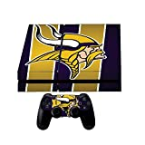Sony Playstation 4 Skin + 2 Ps4 Controller skins + Ps4 light bar decals Vikings