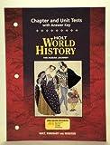 World History, Holt, Rinehart and Winston Staff, 0030657342