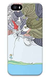 Illustration The Balloon Girl Hard Case Cover iPhone 5S 5