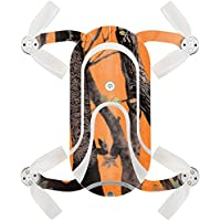 Skin For ZEROTECH Dobby Pocket Drone – Orange Camo | MightySkins Protective, Durable, and Unique Vinyl Decal wrap cover | Easy To Apply, Remove, and Change Styles | Made in the USA